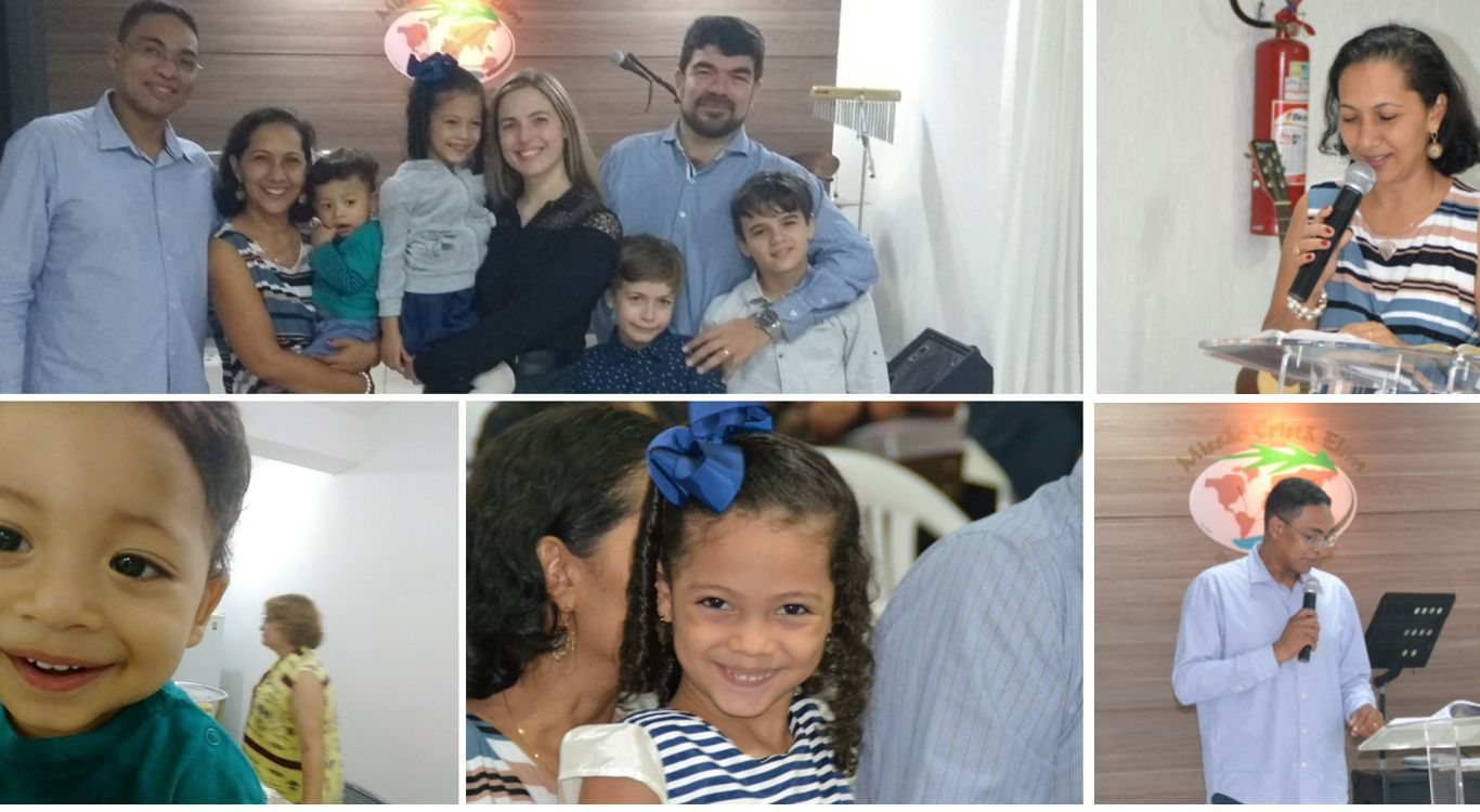 Pastor Manoel e família visitam a MCE Brasília