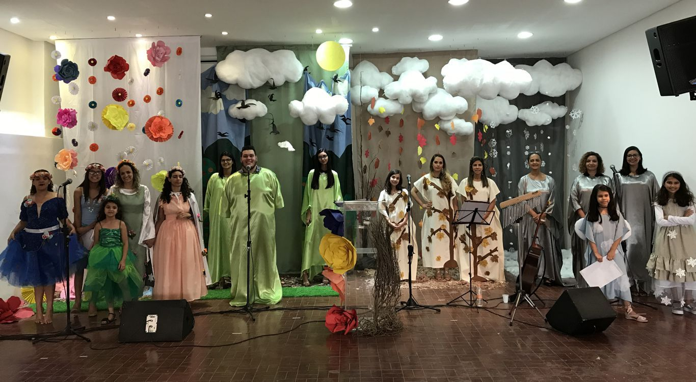 Cantata de Natal em São Paulo