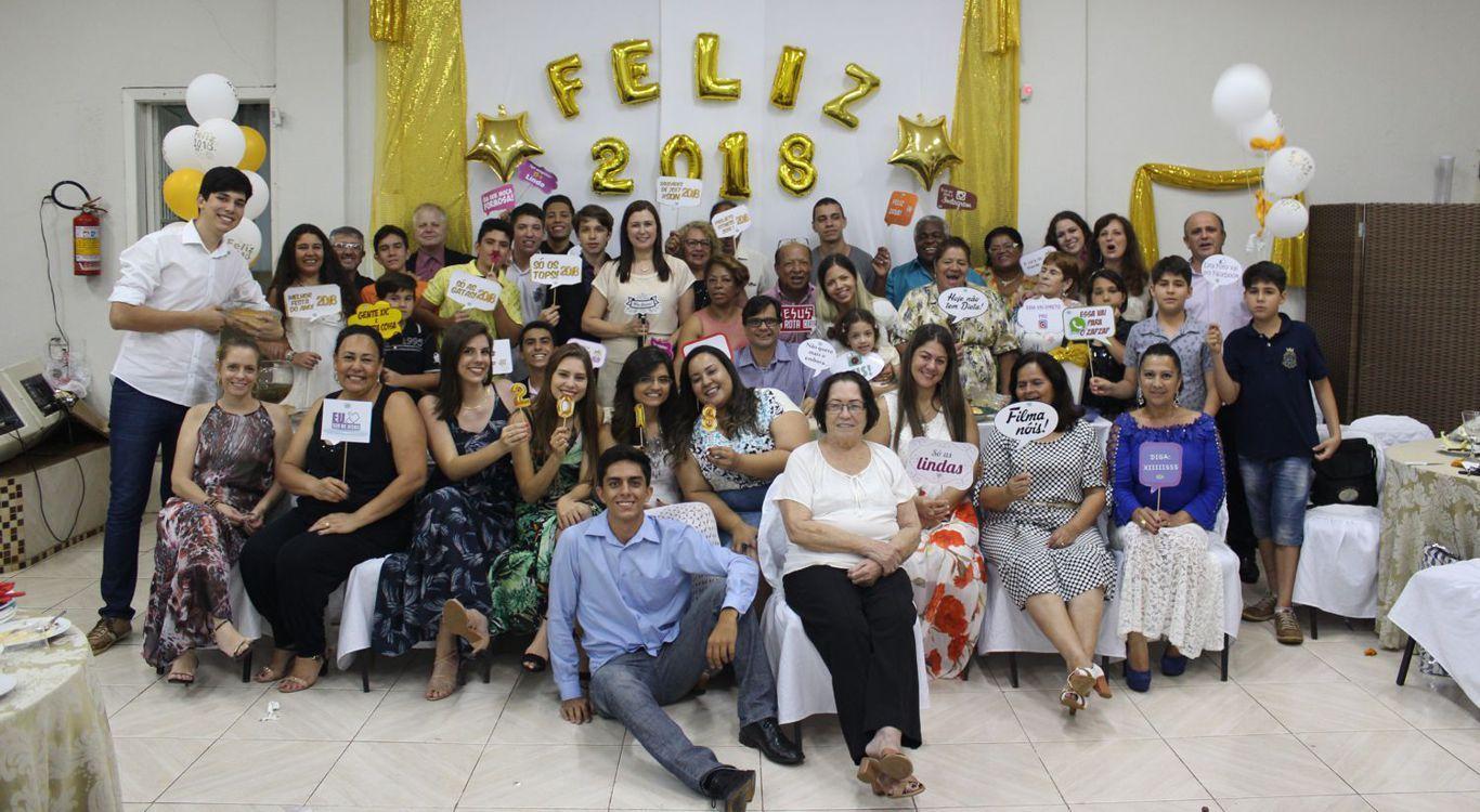 Culto da virada do ano na MCE Ipanema