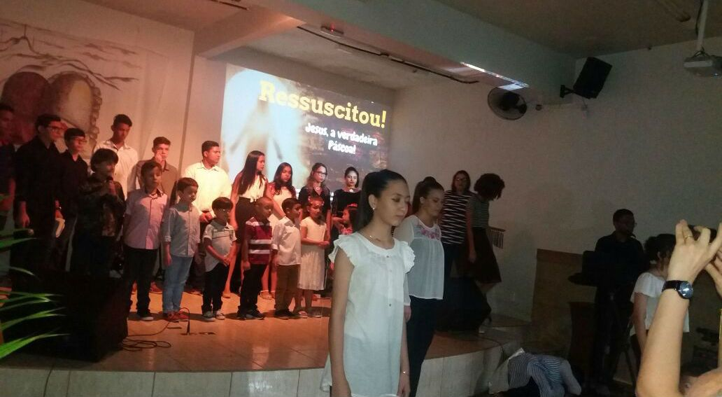 """Com o tema """"Ressuscitou!"""", MCE Belém celebra a Páscoa"""