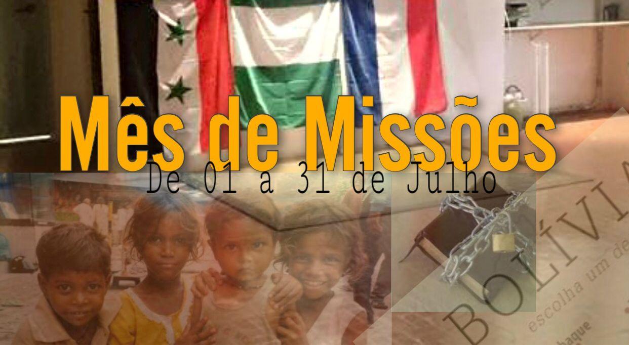 MCE São Paulo realiza atividades para o mês de Missões