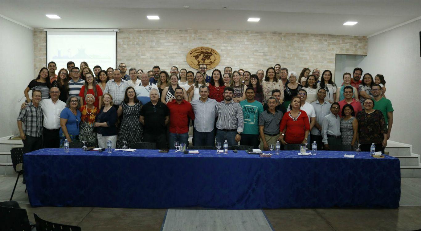Pastores e Obreiros da Missão Cristã Elim reúnem-se na capital do Brasil