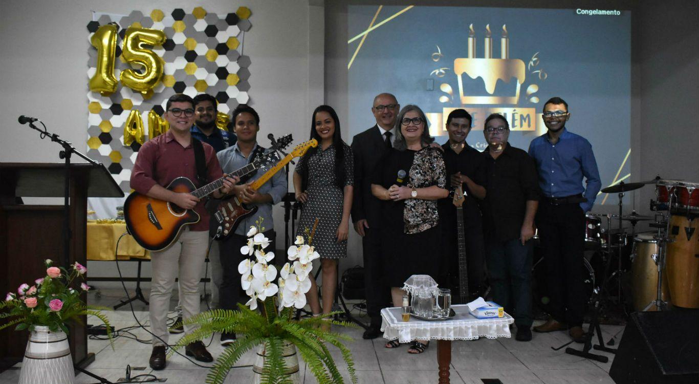 MCE Belém celebra 15 anos de ministério