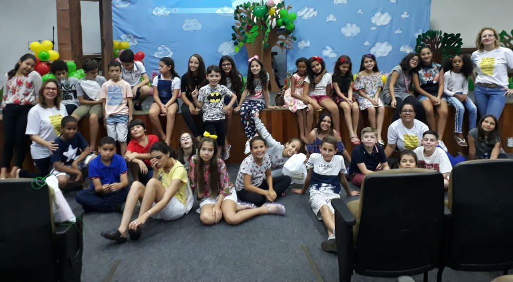 Crianças tiveram programação especial na Convenção Nacional