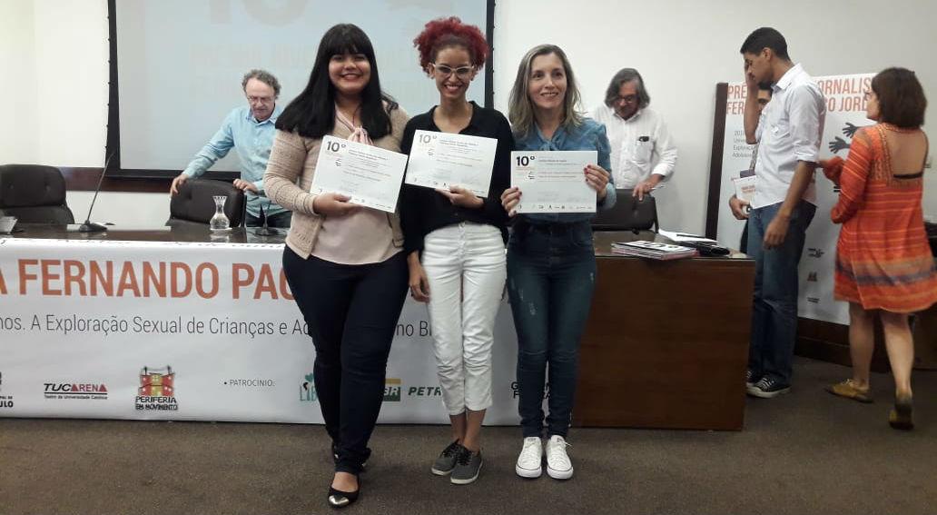 Jovem da MCE Belém vence prêmio nacional de jornalismo | Missão Cristã Elim