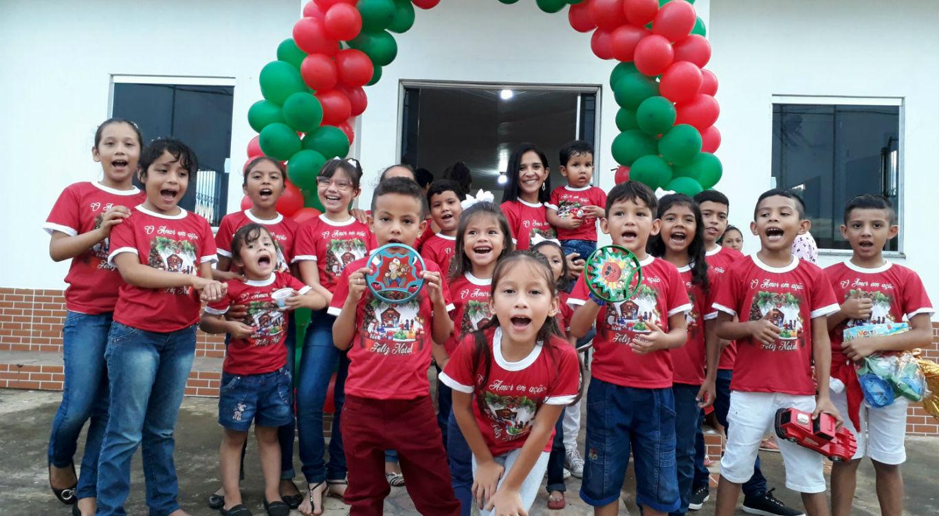 MCE Silves realiza Natal solidário   Missão Cristã Elim