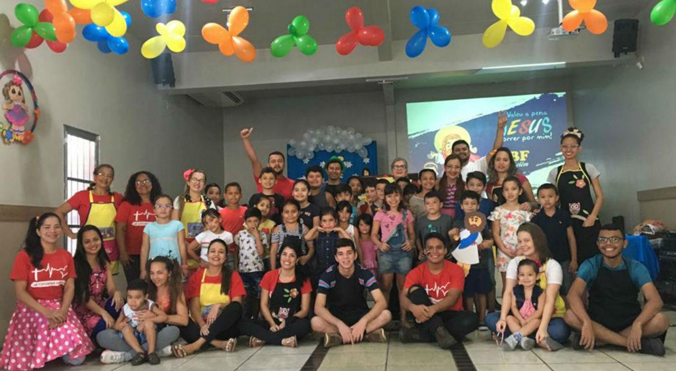 MCE Belém realiza Escola Bíblica de Férias   Missão Cristã Elim