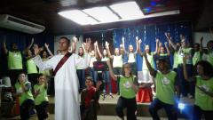 MCE Belém leva mensagem de Cristo a hospital