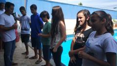 Adolescentes são batizados na MCE Goiânia