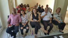 Pastores Martin e Nilah Blas na MCE Cali