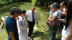 MCE Belém realiza batismo
