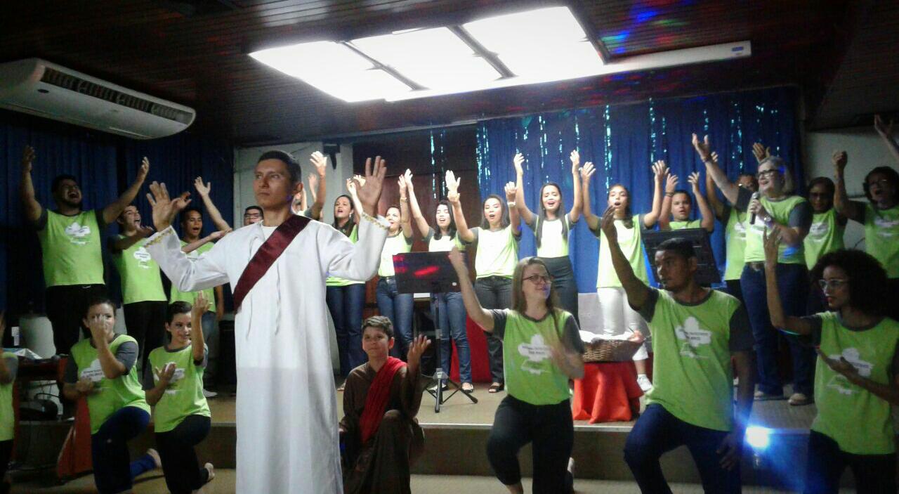 MCE Belém leva mensagem de Cristo a hospital | Missão Cristã Elim
