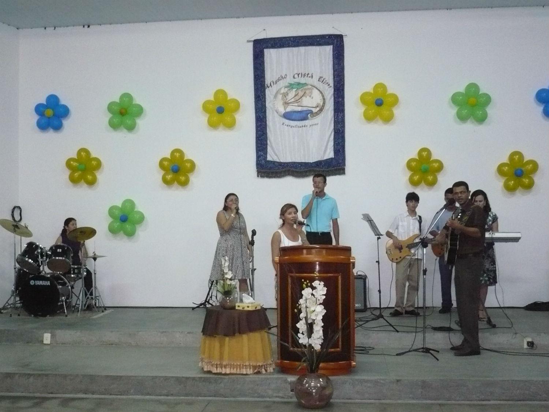 Comemoração dos 20 anos da Missão Cristã Elim em Manaus, na MCE Monte das Oliveiras.