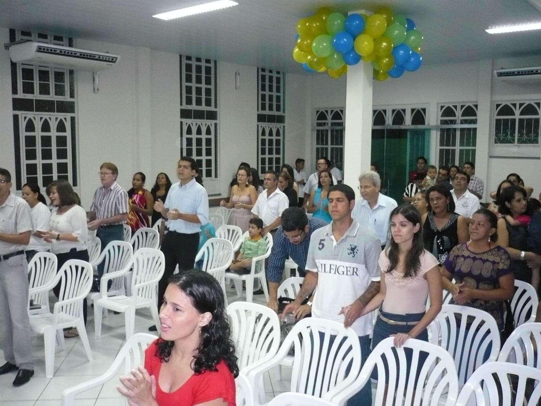 Comemoração dos 20 anos da Missão Cristã Elim em Manaus, na MCE Adrianópolis.