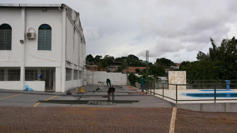 Em 2014 completa-se um ciclo de melhorias no templo do Monte das Oliveiras, com a colocação da piscina e ampliação do salão social.