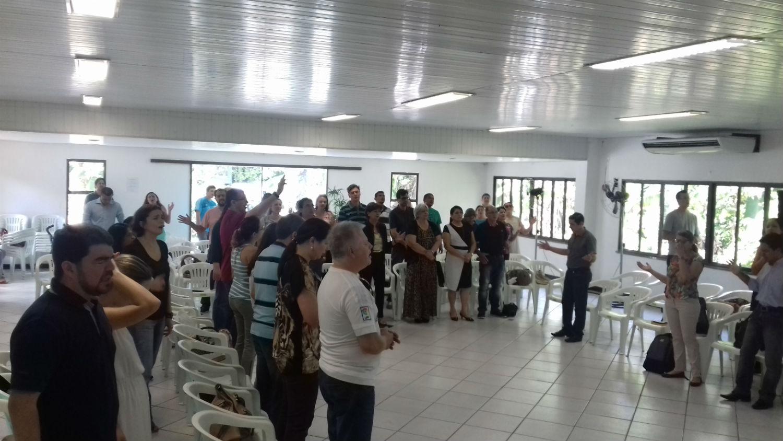 Em 2016, temos o privilégio de sediar o Encontro Nacional de Pastores e Obreiros, reunindo um grupo de 60 pessoas vindas de todas as igrejas MCE do Brasil e interior do Amazonas.