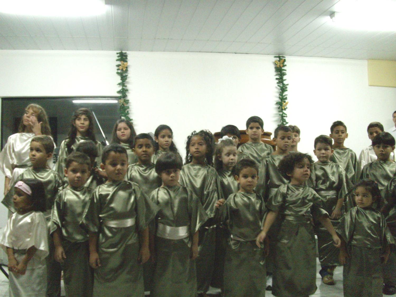 Cantata de Natal apresentada no ano de 2007.