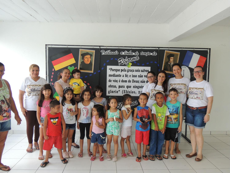 Em 2017, o ministério infantil aproveita para instruir as crianças por meio de palestras e gincanas voltadas à comemoração dos 500 Anos da Reforma Protestante.
