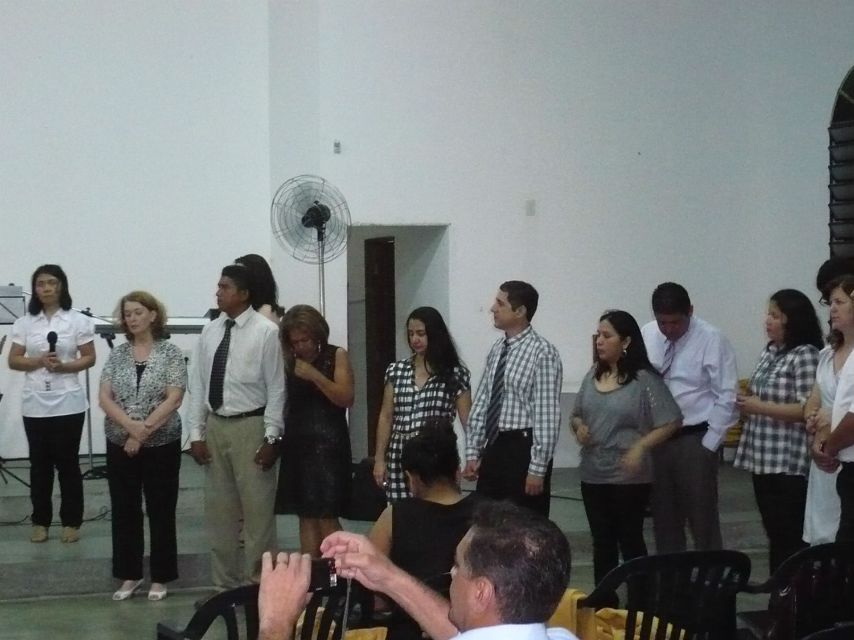 Com a saída dos pastores Martin e Nilah, em 2011, vários discípulos também seguem ao campo.
