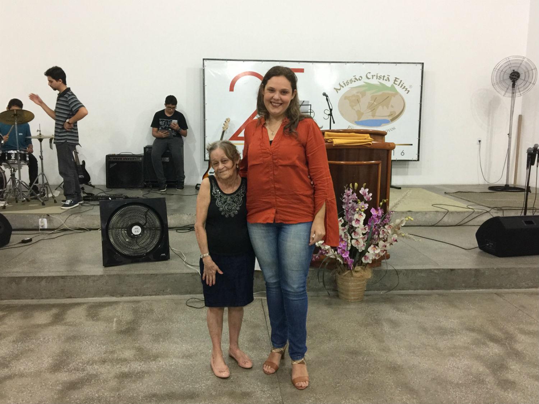 Em 2017 nos despedimos da irmã Mariana, que segue rumo a Cali, na Colômbia, para cuidar da obra com seu esposo Diego.