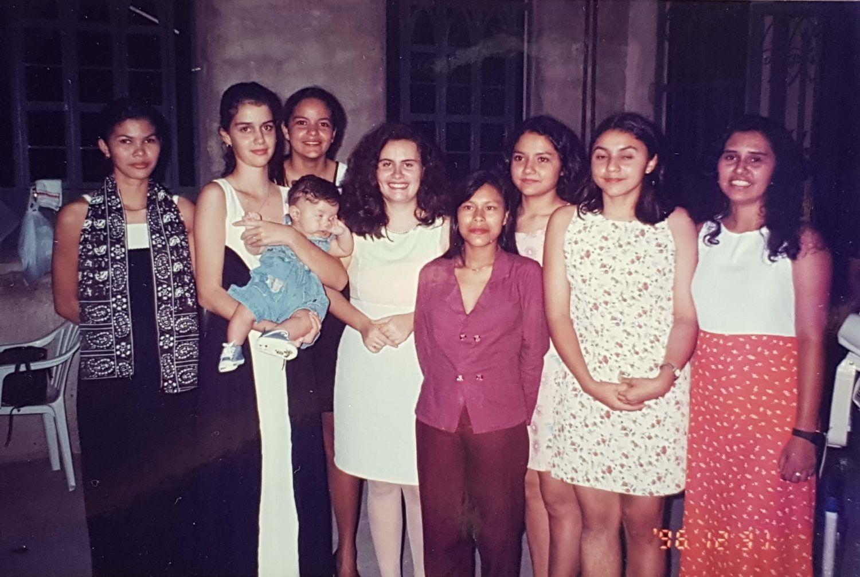 Em 1997, o rebanho vai se consolidando, crescendo na comunhão, no partir do pão e nas orações.
