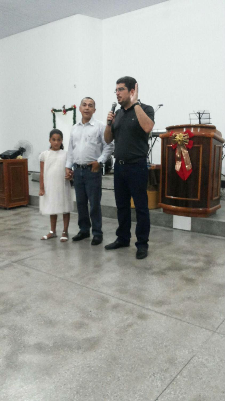 Em 2015, a igreja também se despede dos pastores Gefferson e Jane e sua filha Ana Nilva, enviados ao campo, para a cidade de Florianópolis/SC.