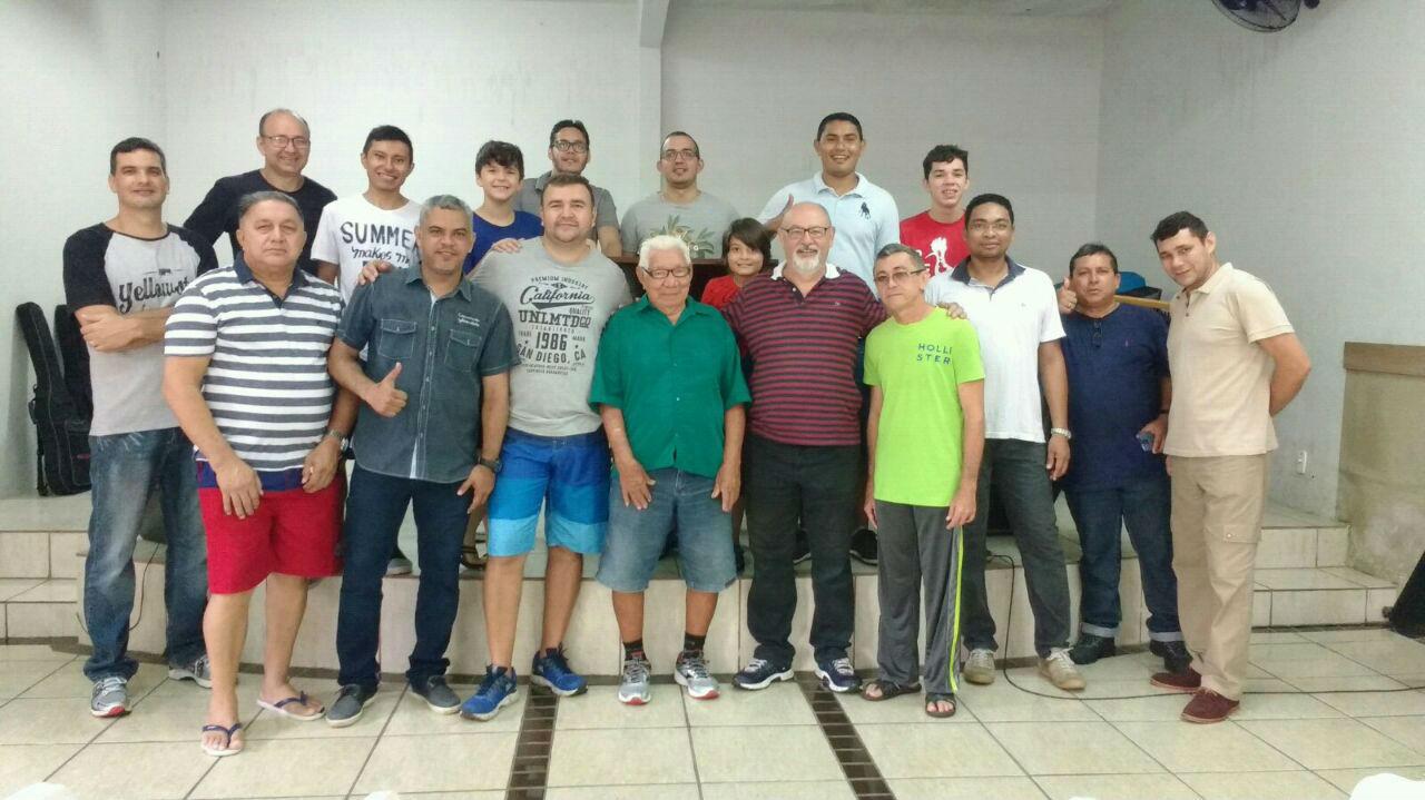 MCE Belém realiza evento para homens | Missão Cristã Elim
