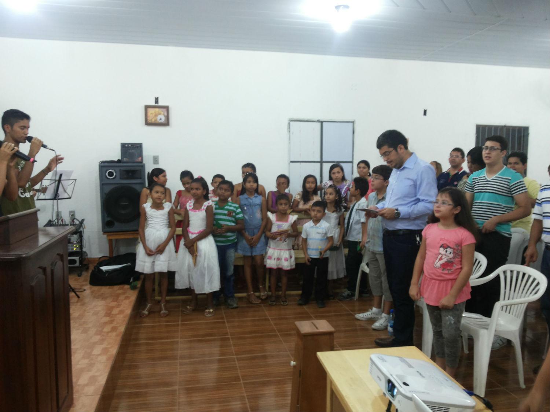 Trabalho missionário realizado no interior do Amazonas