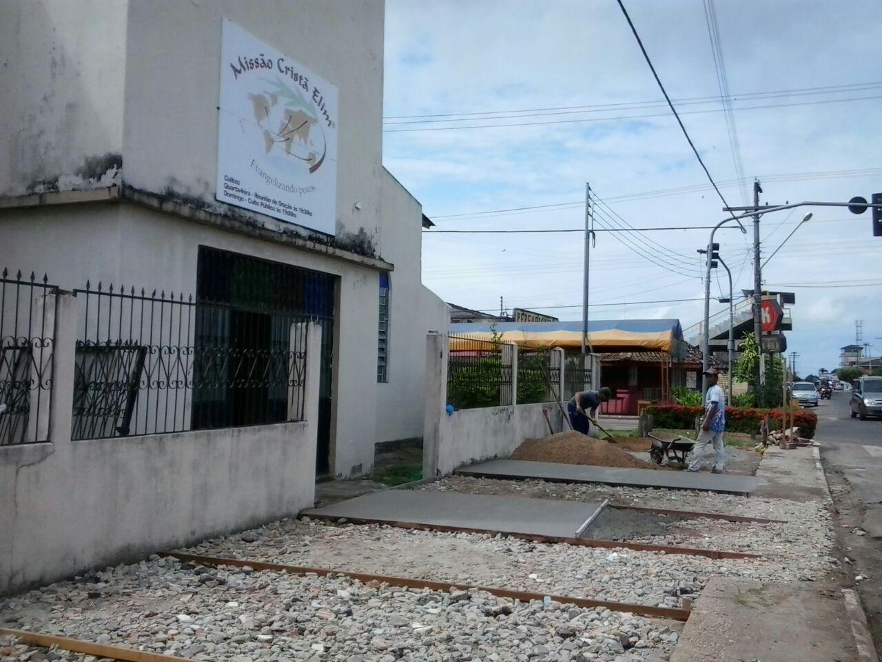 Templo da MCE Itacoatiara, em Itacoatiara/AM