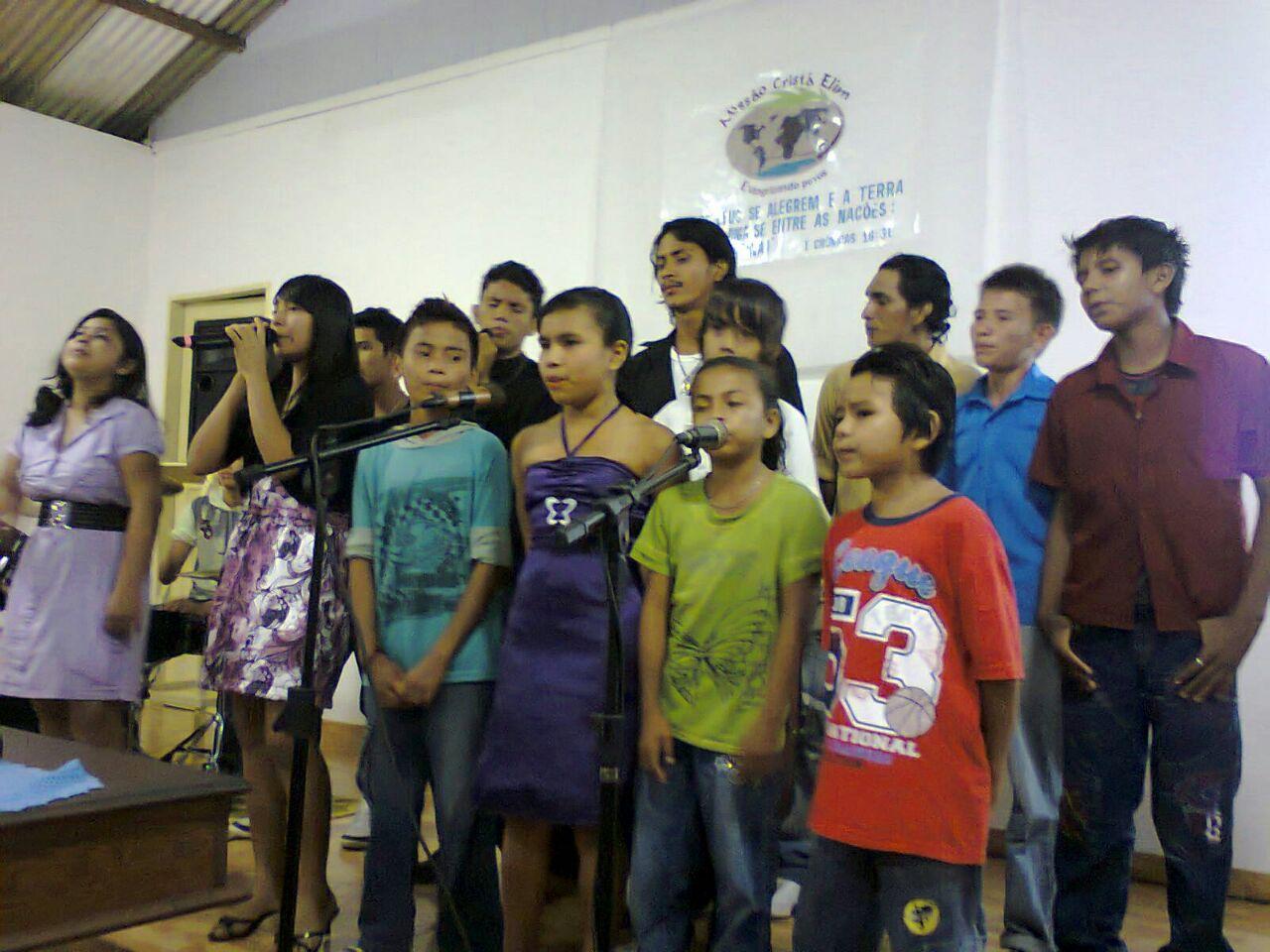 Culto na MCE Silves, em Silves/AM