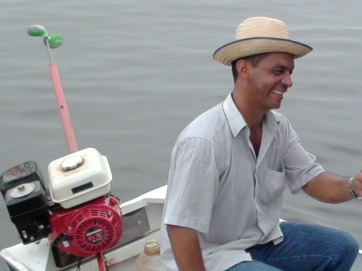Pastor Himperion Roque de Souza, da MCE Comunidade Indígena Lago do Cana