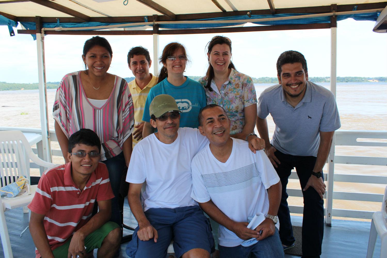 Terceira viagem missionária realizada no interior do Amazonas com o barco Elim, em 2013