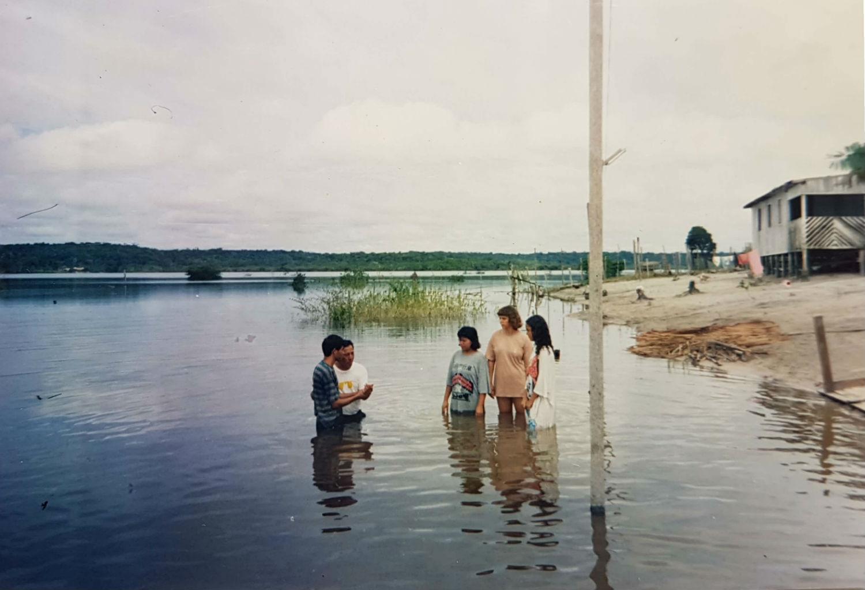 Primeiro bastimo de irmãos amazonenses, em 1991