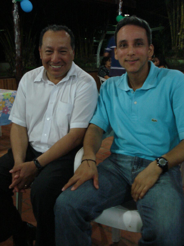 Outubro de 2011 - Viagem do irmão Diego Bermudez ao Brasil