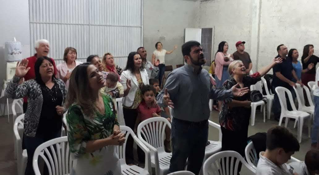 Pastor da MCE Brasília ministra na igreja de Campo Largo | Missão Cristã Elim