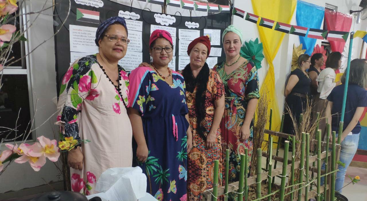MCE Madre Germana celebra Culto de Missões | Missão Cristã Elim